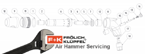 F+K Air Hammer Servicing